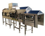 Pressurized Conveyor Between Filler and Capper